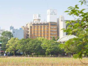 ホテルパークサイド東京上野の外観