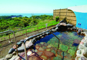 かんぽの宿 勝浦の露天風呂