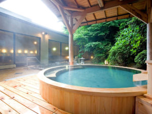 湯本富士屋ホテルの露天風呂