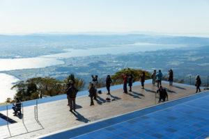 琵琶湖を眼下に見下ろせる絶景ポイント