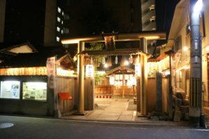 御金神社ライトアップ
