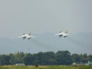 エアーパーク練習機の離着陸