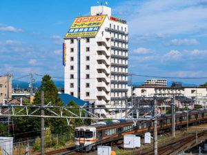 スーパーホテル安城駅前の外観