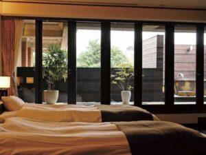 アピカルイン京都の露天風呂付き客室