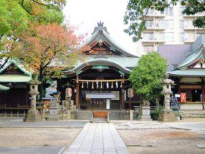 名古屋市の千種区今池にある高牟神社
