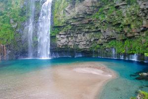 雄川の滝壺