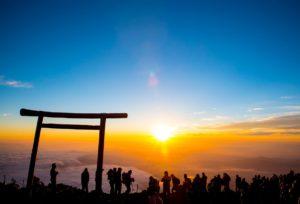 富士山ご来光(日の出)