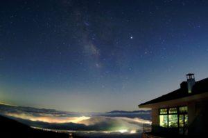 SORA terrace(ソラテラス)からの星空