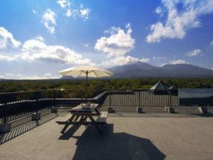 軽井沢1130の屋上からの景色