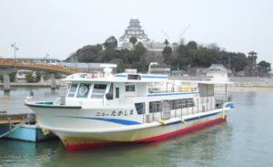 唐津高島への船