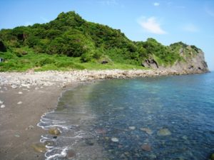 谷川浜海水浴場1