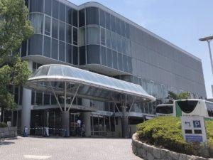 ホテル阪急エキスポパーク外観