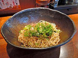 キング軒「汁なし担担麺」