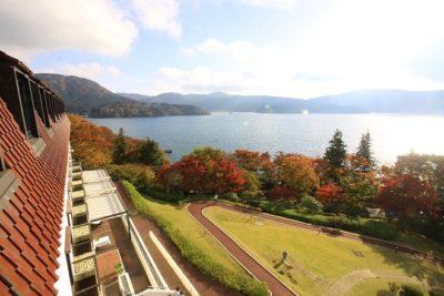 小田急山のホテル 部屋からの眺め