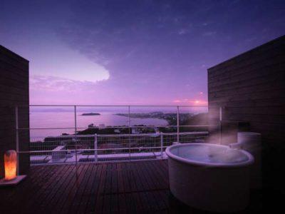 プライベートホテル&スパレストラン森羅の客室露天風呂