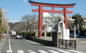 鎌倉のメインストリート