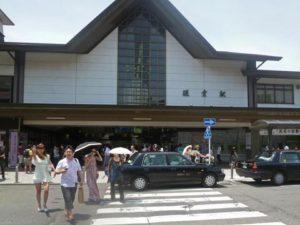 鎌倉駅 東口正面