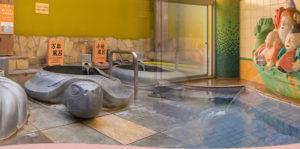 ホテルかめ福の大浴場