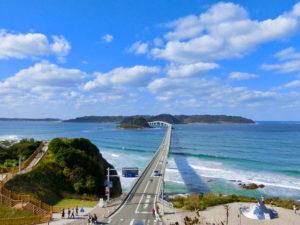 ロケ地としても有名な角島大橋