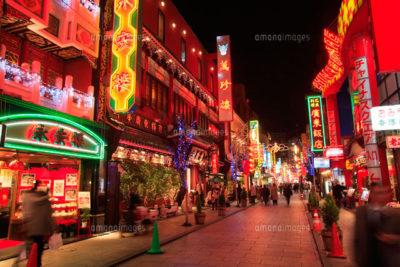 夜の横浜中華街2
