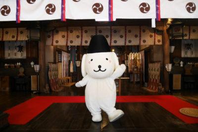 石浦神社 きまちゃん