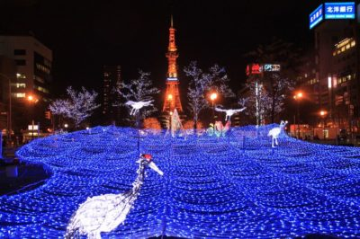札幌の「ホワイトイルミネーション」
