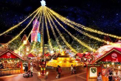 ハウステンボス 光のクリスマス