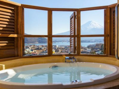 ラビスタ富士河口湖の客室露天風呂