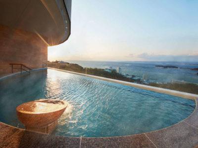 インフィニートホテル&スパ南紀白浜のインフィニティ風呂