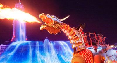 ハウステンボス 光のロボットドラゴンショー