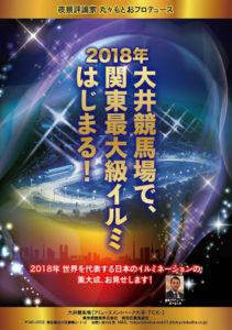「TOKYO MEGA ILLUMINATION」のポスター