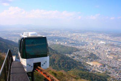 皿倉山 スロープカー