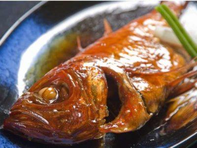 食べるお宿 浜の湯の金目鯛姿煮