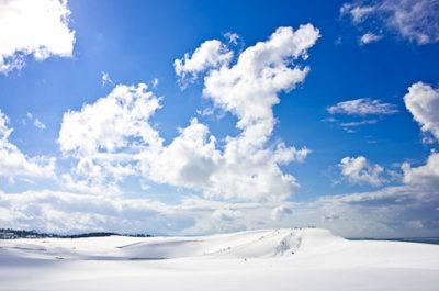 鳥取砂丘 雪景色2