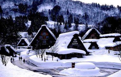 白川郷(岐阜)雪景色
