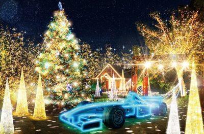 クリスマスツリー ライトアップ