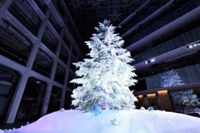 KITTE(キッテ)のクリスマスツリー