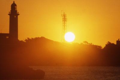 野島埼灯台からの初日の出