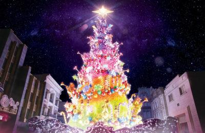 ユニバーサル・スタジオ・ジャパンのクリスマスツリー