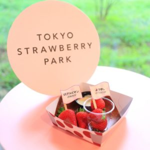 TOKYO STRAWBERRY PARKのUCアルビオン