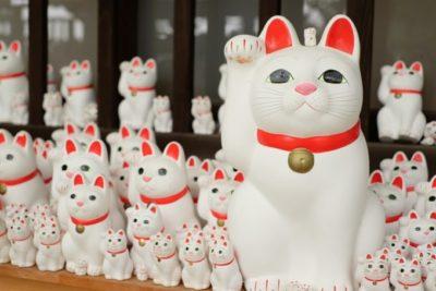 招き猫の神社