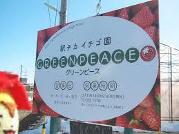 駅チカイチゴ園「GREENPEACE」