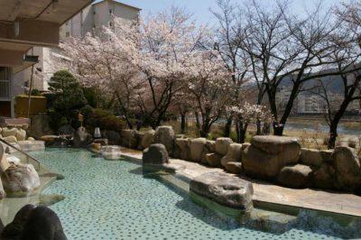 望川館(ぼうせんかん)花見露天風呂1