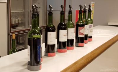 マンズワイン勝沼ワイナリー ワインの試飲1